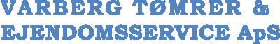 Varberg Tømrer & Ejendomsservice Logo